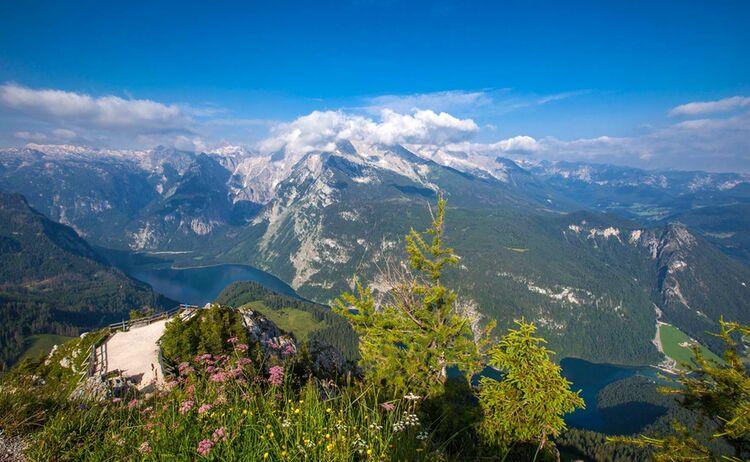 Berchtesgadener Land Blick Vom Kehlstein Auf Den Koenigssee Web