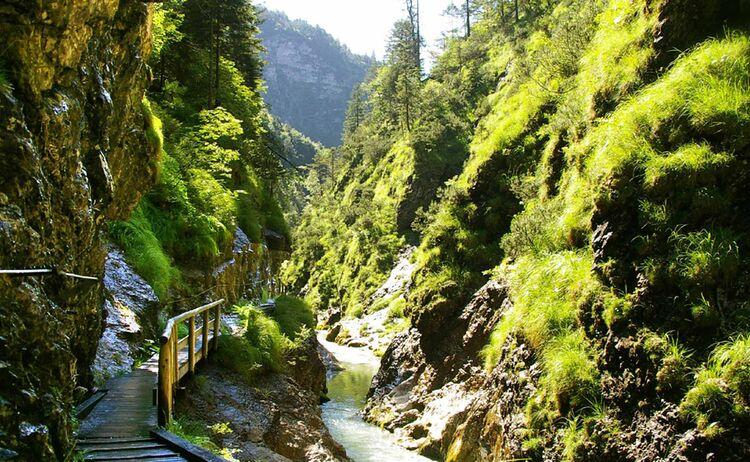 Berchtesgadener Land Weissbachschlucht Copyright Tourist Info Schneizlreuth Web