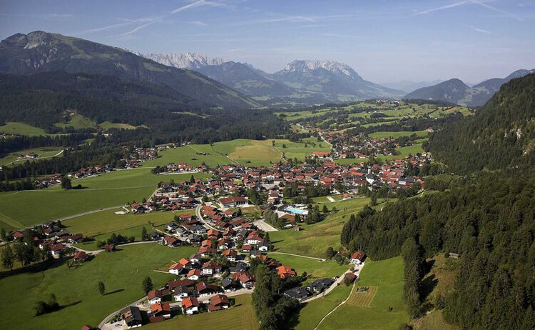 Blick Auf Reit Im Winkl Copyright Chiemgau Tourismus E V Web