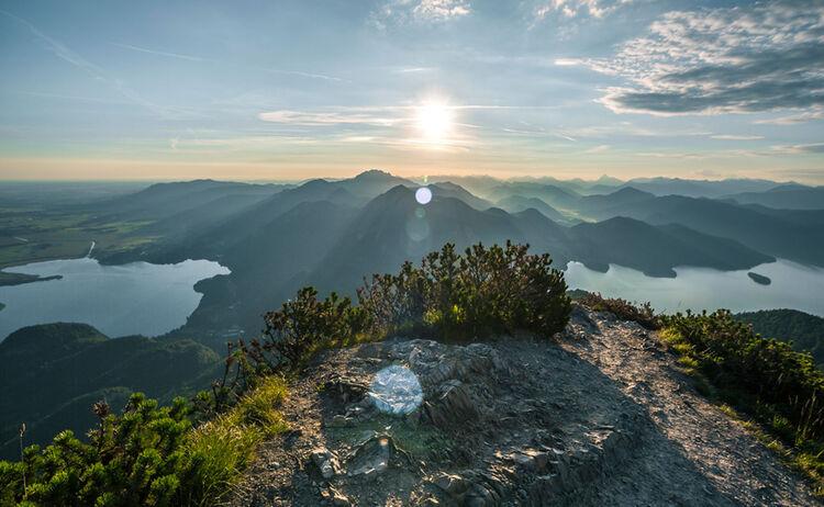 Toelzer Land Herzogstand Gipfel Copyright Kochel Am See Web