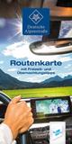 Routenkarte Deutsche Alpenstraße deutsch