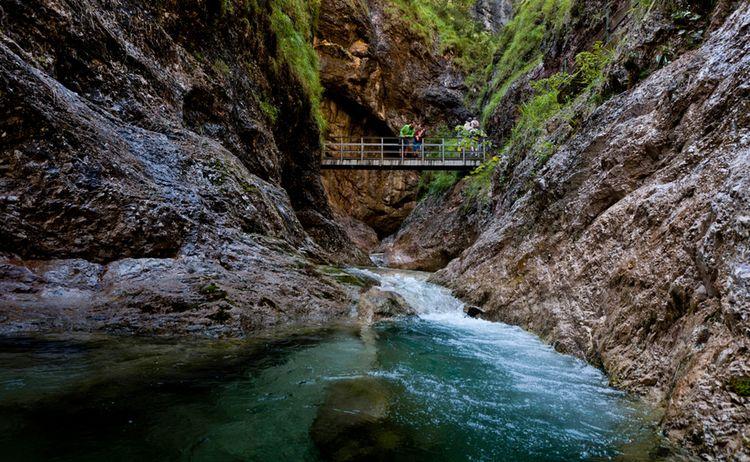 Berchtesgaden Almbachklamm Bgl Kopie