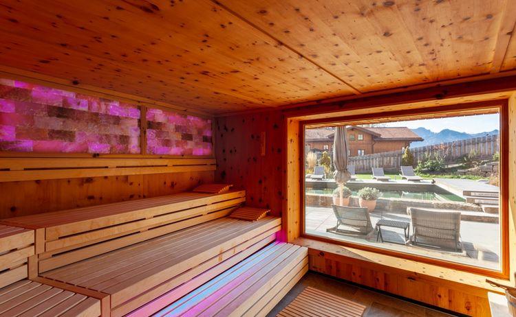 Biohotel Eggensberger Zirbensauna Moving Pictures