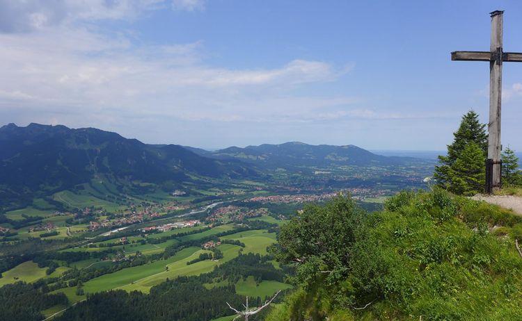 Blick Vom Geierstein Ueber Lenggries C Tourismus Lenggries 1