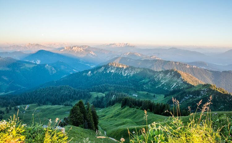 Blick Vom Hochgern In Den Chiemgau Copyright Chiemgau Tourismus E V Web