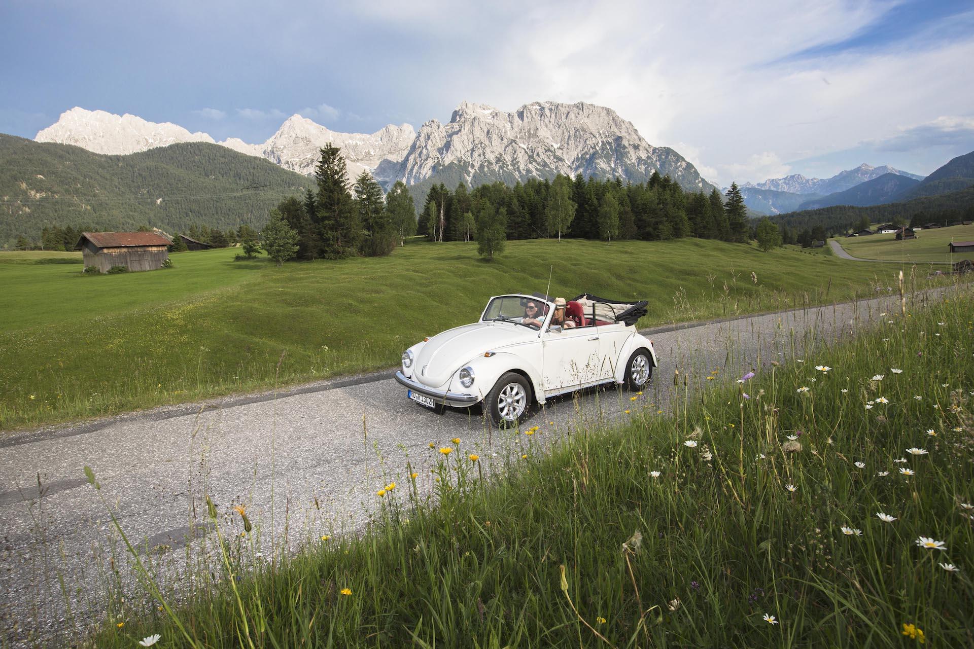 Cabriotour durch Allgaeu und Bayern
