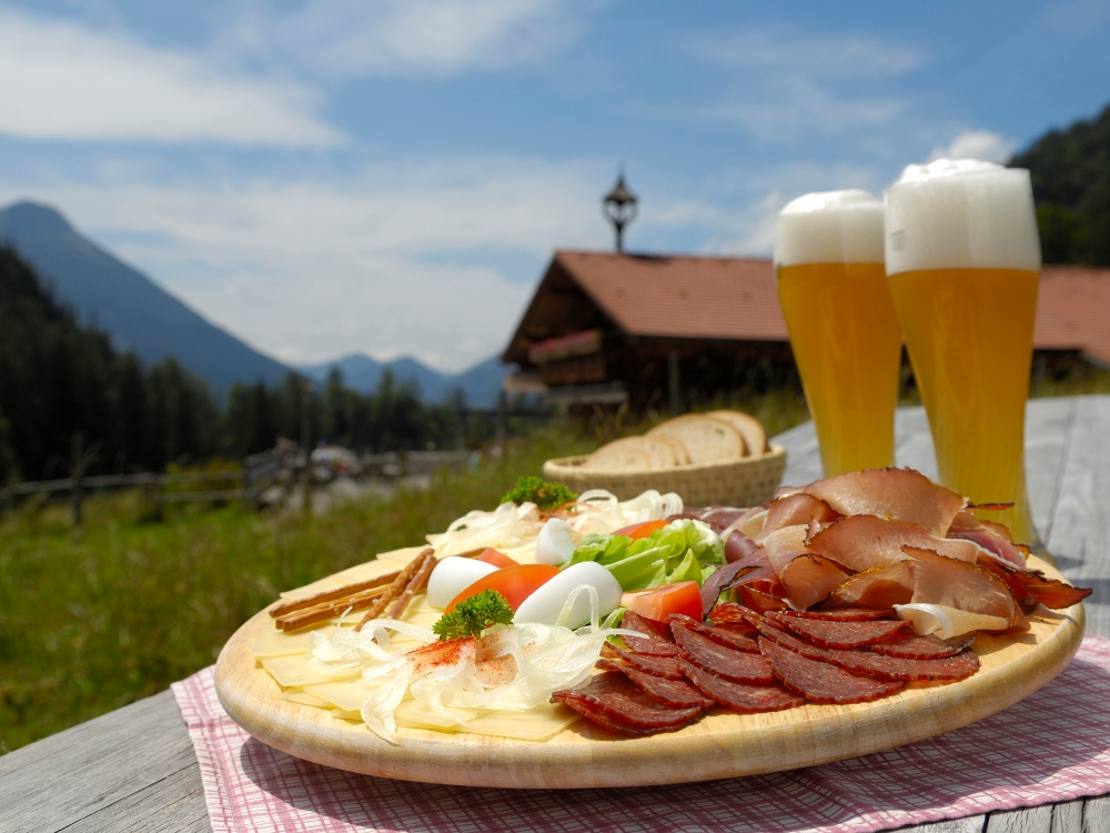 Brotzeit Hütte Füssen