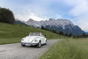 Cabrio fahren © Deutsche Alpenstraße, Andreas Kern