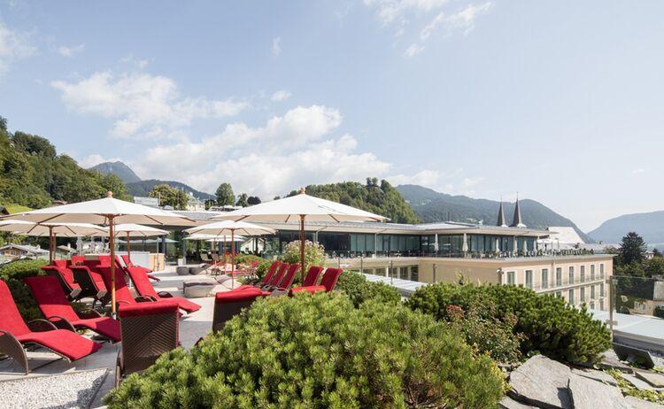 Edelweiss Berchtesgaden Dachterrasse 7