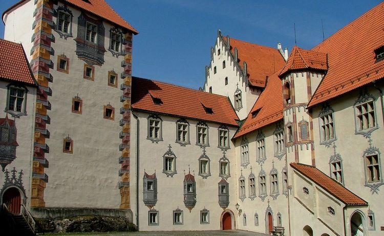 Fuessen Hohes Schloss 38 21 Fuessen Tourismus Und Marketing Rainer Paulick