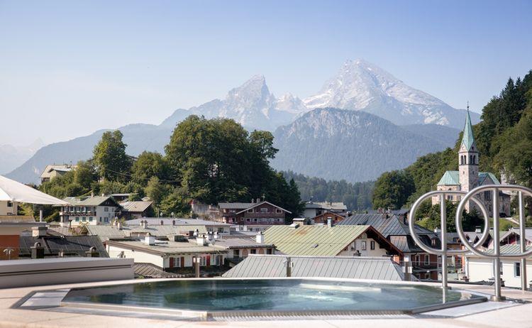 Hotel Edelweiss Berchtesgaden Outdoor Whirlpool