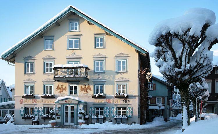 Hotel Restaurant Adler Winter 1