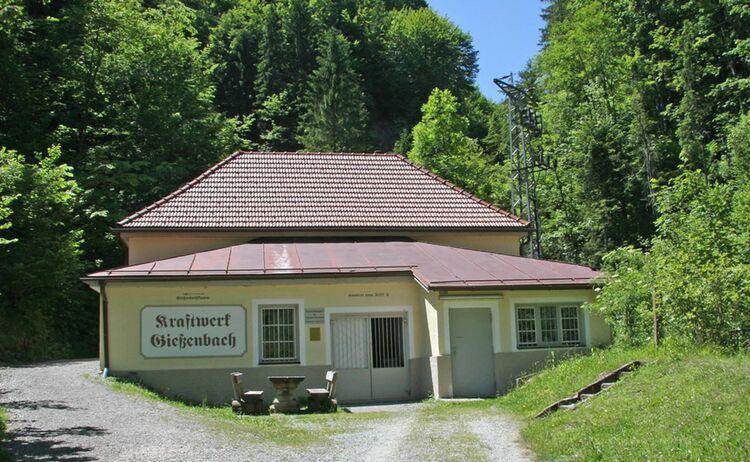 Kraftwerk Giessenbach Kiefersfelden