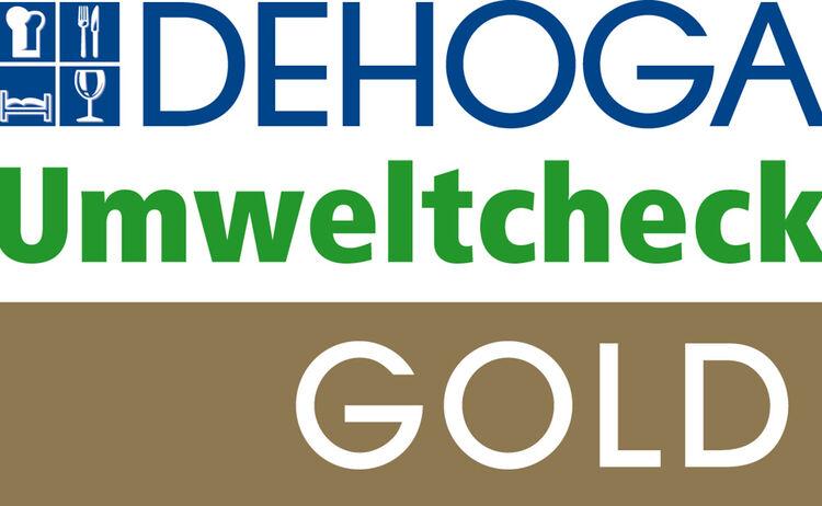 Logo Umweltcheck Gold