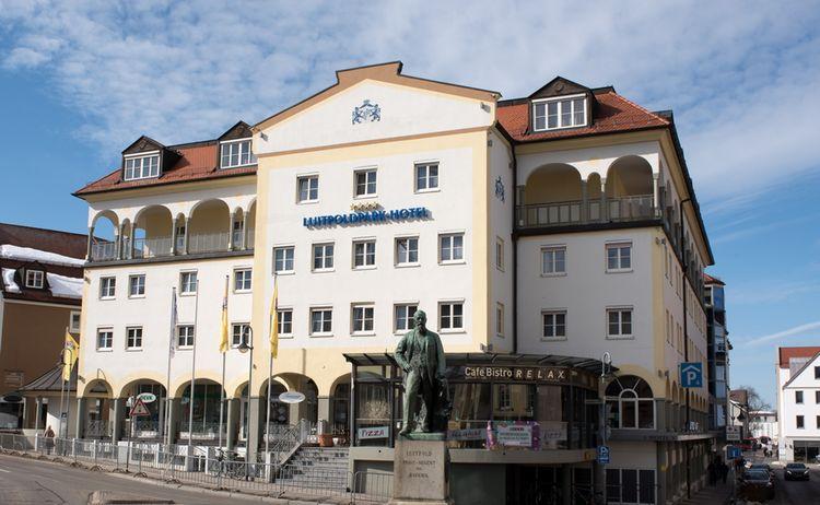 Luitpoldpark Hotel Aussenansicht 2