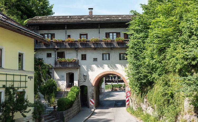 Museum Burgtor Oberaudorf Aussen Sommer 1