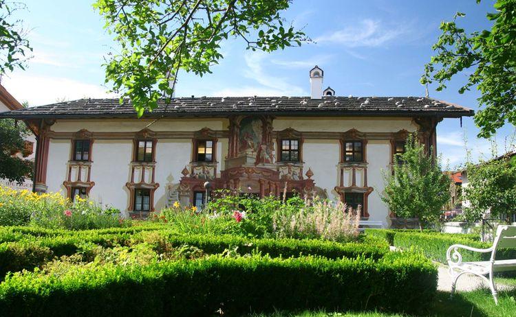 Oberammergau Pilatushaus Fotograph Copyright Stephan De Paly Web