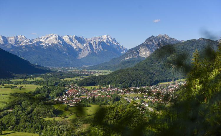Oberau Loisachblick Zugspitzland Wolfgang Ehn 1