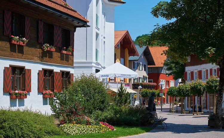 Oberstaufen Fgz Bahnhofstrasse Oberstaufen Tourismus