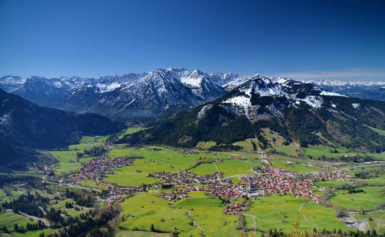 Ti Bad Hindelang Tourismus Wolfgang B Kleiner Blick Auf Bad Hindelang
