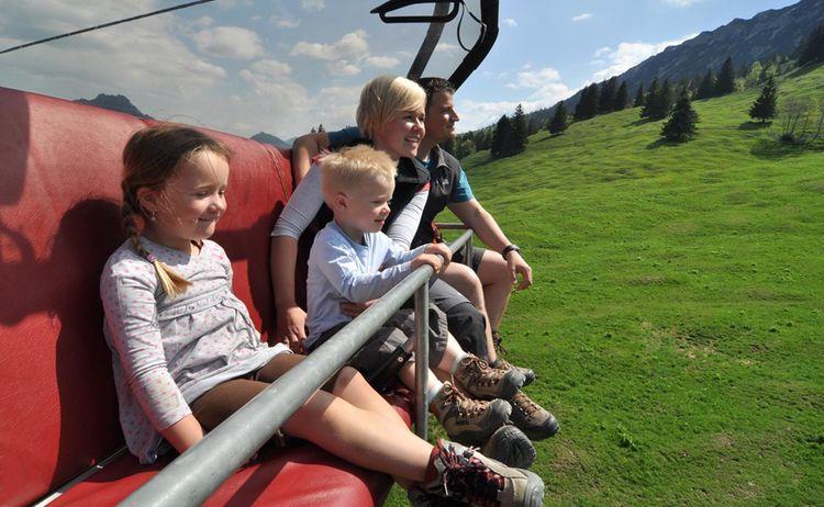 Ti Bad Hindelang Tourismus Wolfgang B Kleiner Familie In Iselerbahn