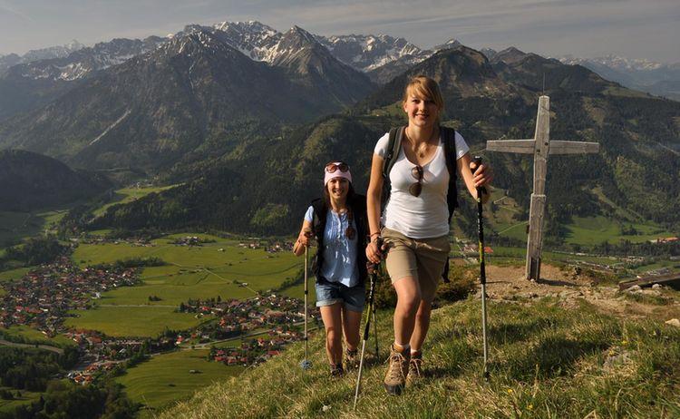 Ti Bad Hindelang Tourismus Wolfgang B Kleiner Wandern Am Hirschberg