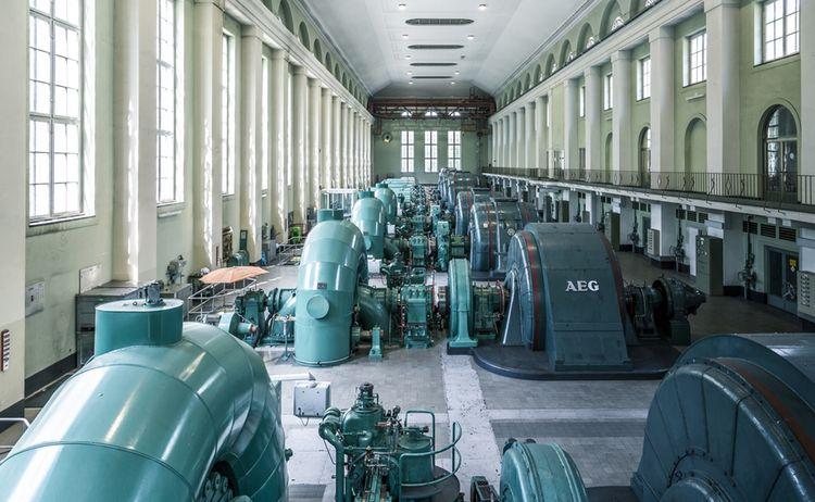 Walchenseekraftwerk Tkujat 26 Copyright Tourist Information Kochel A See Kopie