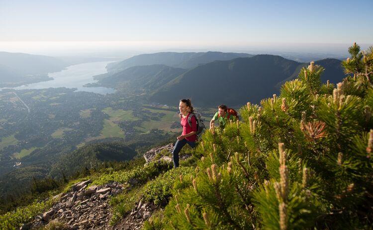 Wandern Am Wallberg Der Tegernsee Hansi Heckmair