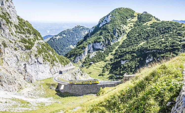 Wendelsteinzahnradbahn Chiemgau Tourismus Thomas Kujat 1